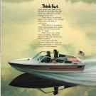 1973 Silverline Aruba GTV Boat Color Ad- Nice Photo