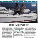1987 Chris- Craft Sea Hawk Boat Color Ad- Nice photo