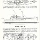 1950 Consolidated Shipbuilding Co 50' Yacht Dona Rosa II Review