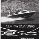 1973 Sea Ray Boats Ad- Great Photo