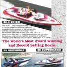 1995 Cole Performance Boats Color Ad- Nice Photos of 3 Models