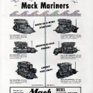 1941 Mack Diesel Marine Engines Ad- Photos of 6 Models