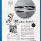 1941 Kermath Marine Engines Ad- Nice Photo Matthews 38' Yacht Lihu""