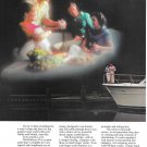 1987 Hatteras 43' Motor Yacht 2 Page Color Ad- Nice Photo