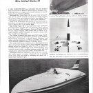 "1959 Hydroplane ""Miss United States III"" Review- Great Photo"