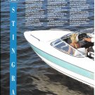 1995 Stingray 606 ZP Boat Review- Specs- Nice Photos