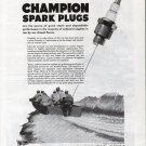 1943 WW II Evinrude Outboard Motors Ad- Nice Photo Storm Boat