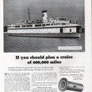 1942 B F Goodrich Cutless Bearings Ad-Great Photo Ferryboat Del-Mar-Va