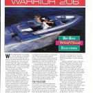 1994 Galaxie Warrior 206 Boat Review & Specs- Nice Photos
