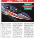 1994 Mirage 22 Trinity Boat Review & Specs- Nice Photos