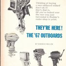 1967 Outboard Motors Reviews & Specs- Nice Photos