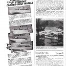 1955 Lyman Boat Works Ad- Photo of 4 Models