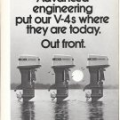 1972 Johnson Outboard Motors 2 Page Ad- Nice Photo 125-100-85 HP.