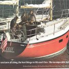 1975 Dufour 34 Yacht Color Ad- Nice Photo