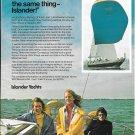 1975 Islander 36 Yacht Color Ad- Nice Photo