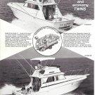 1975 Viking Yacht Company Ad- Nice Photo Viking 40' & 35'