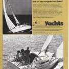 "1975 O'Day 27 II Yacht Ad- Nice Photos of ""Sundance"""