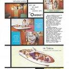1962 Owens 40' Tahitian Yacht Color Ad- Nice Photos