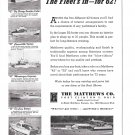 1962 Matthews Yacht Company Ad- Nice Photos of 6 Models