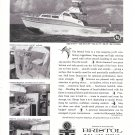 1962 Bristol Yachts Ad- Nice Photos 38' Bristol Tern