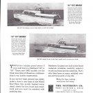 1963 Matthews Yacht Company Ad- Nice Photos of 42' & 52' Models