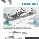 1957 Owens Yacht Company 2 Page Ad- Nice Photos of 4 Models