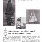 1967 Jensen Marine Corp Ad- Nice Photos of Cal boats-Mazatlan Race