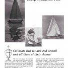 1967 Jensen Marine Corp Ad- Nice Photos of Cal boats-Mazatlan Race