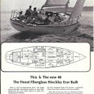"1967 Henry R Hinckley 48 Yacht Ad- Nice Photo of ""Scaramouche"""