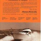 1971 American Marine LTD Ad- Nice Photo of Laguna 10 Metre Boat