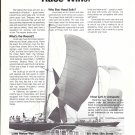 1972 Hood Sails Ad- Nice Photo