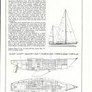 1971 Chance 44' Yacht Review & Specs- Drawings