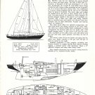 1967 Hinckley 48 Yacht Review & Specs- Drawings