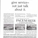 1965 Pacemaker Yachts Ad- Photos of 25'- 31'- 36'