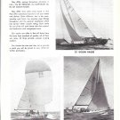1965 A LeComte Yachts Ad- Nice Photos of 3 Models