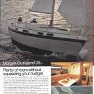 1973 Morgan Out Island 28 Yacht Color Ad- Nice Photos