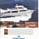 2010 Endurance 750 Cockpit LRC Yacht Color Ad- Nice Photos
