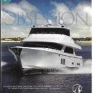 2010 Ocean Alexander 85' Yacht Color Ad- Nice Photo