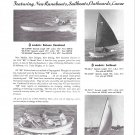 1950 Beetle Boat Company Ad- Photos of 4 Models