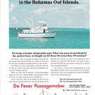 1972 De Fever Passagemaker 38 Yacht Color Ad- Nice Photo