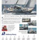 1999 Hallberg- Rasey Yachts Color Ad- Photos of 5 Models