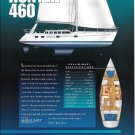1999 Hunter 460 Yacht Color Ad- Specs & Nice Photo