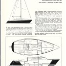 1974 Paceship PY 23 Cruiser Sailboat Review & Specs- Drawing