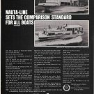 1969 Nauta- Line 43' & 34' Houseboats Ad- Nice Photos