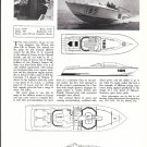 "1967 Jim Wynne 40' Express Cruiser Boat ""Gee"" Ad- Nice Photo"