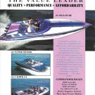1994 Commander Boats Color Ad- Nice Photos of 3 Models