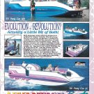 1994 Advantage Boats Color Ad- Nice Photos of 22' & 26 Party Cat- Hot Girls
