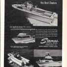 Old Stamas Boats Ad- Nice Photos of 4 Models