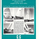 1974 C & C Yachts Ad- Photos of 5 Models