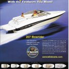 2003 Caravelle Powerboats Color Ad- Nice Photo of 207 Bowrider- Hot Girls